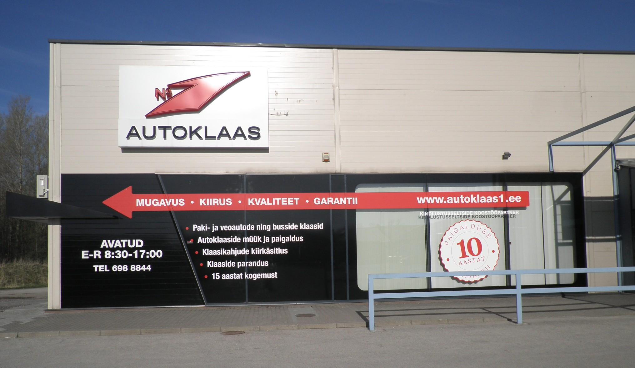 Klaasivahetus Pärnus - Autoklaas1 Pärnu